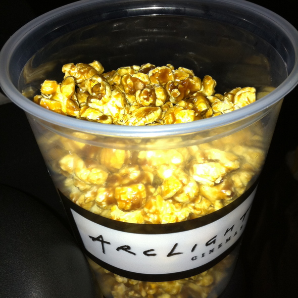 Caramel Popcorn @ Arclight Cinemas
