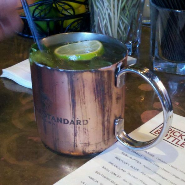 Moscow Mule @ Brick & Bottle