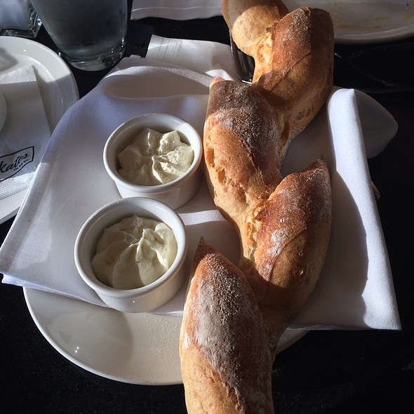French Bread And Whipped Butter - Skates on the Bay, Berkeley, CA