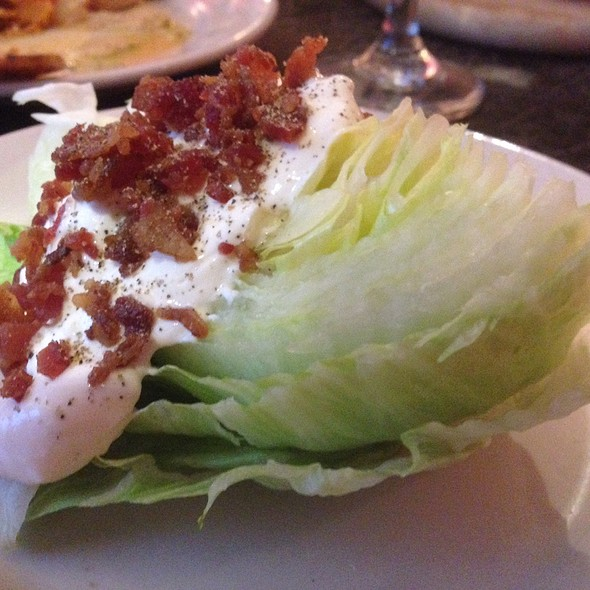 Wedge Salad - Wilmette Chop House, Wilmette, IL