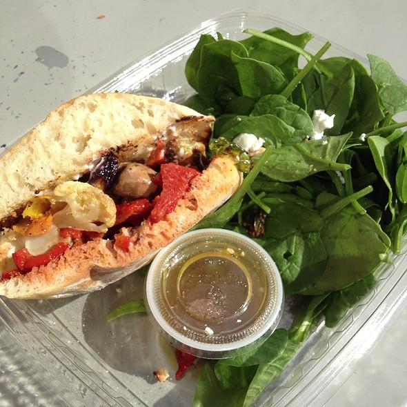 Roasted Veggie Sandwich @ Tender Greens