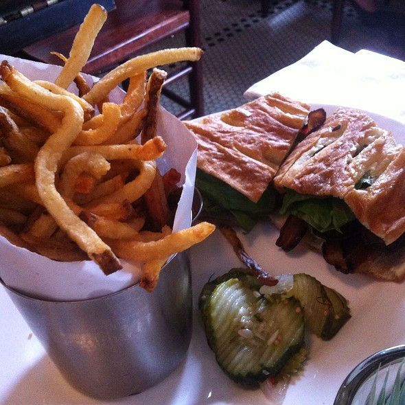 Blt Sandwich & Fries - Watty & Meg, Brooklyn, NY