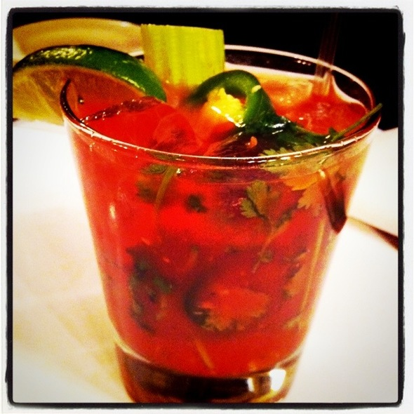 Spicy Bloody Mary @ Minetta Tavern