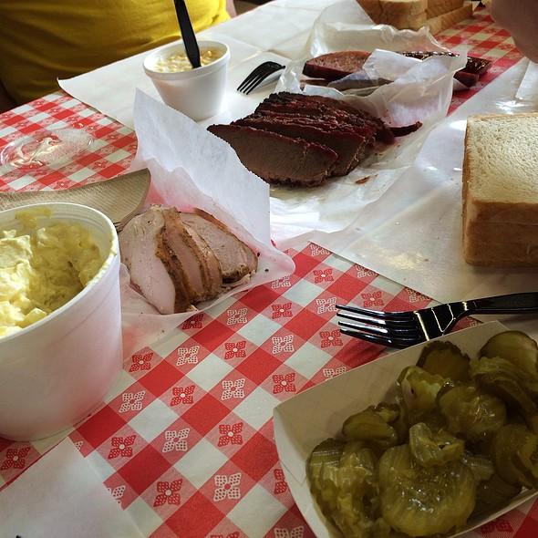 Brisket, Sausage, Pork Ribs, And Turkey