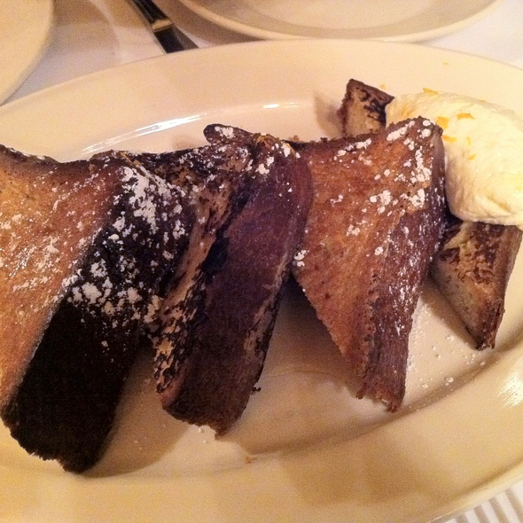brioche french toast @ Minetta Tavern