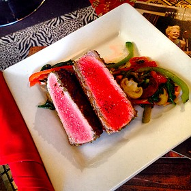 Pan Seared Ahi Tuna - Rouge, Miami Beach, FL
