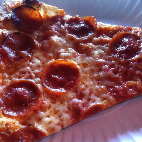 Pepperoni Pizza @ Home Slice Pizza