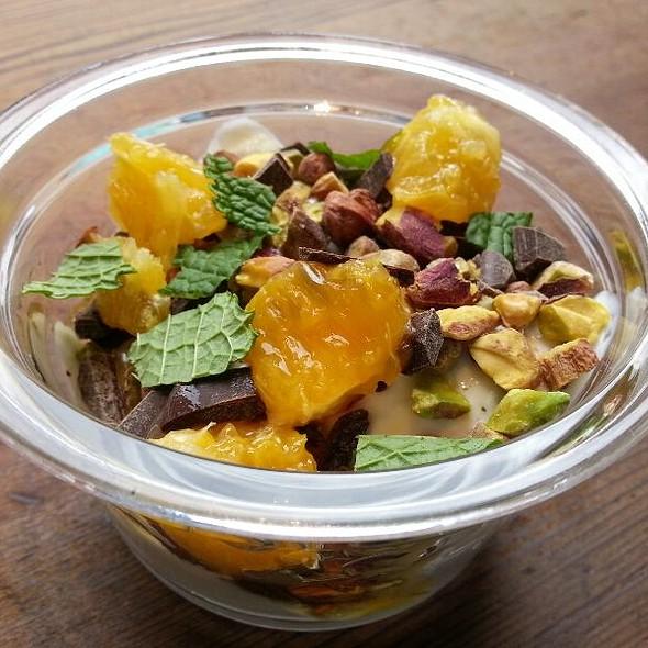 Pistachio And Chocolate Yogurt  @ Chobani SoHo