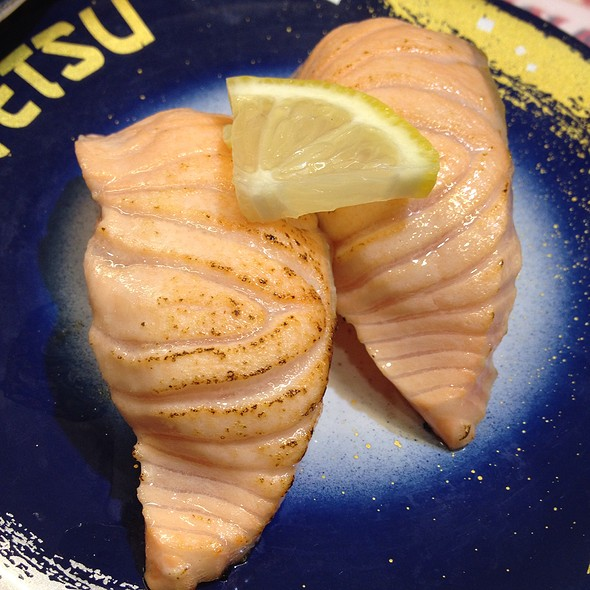 Seared Salmon @ Tetsu Sushi
