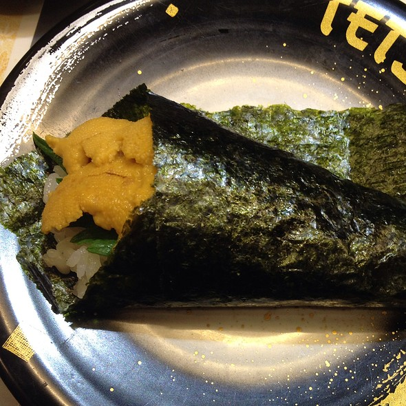 Uni handroll @ Tetsu Sushi