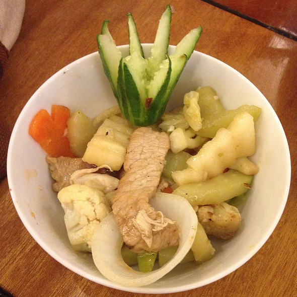 Pork & Vegetables (Chopseuy)