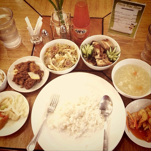 Filipino Pork & Seafoods Buffet