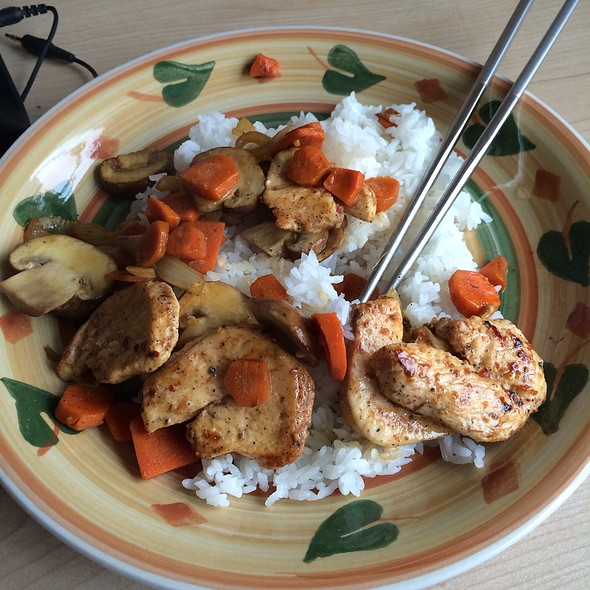 Lime Infused Spicy Chicken @ Home