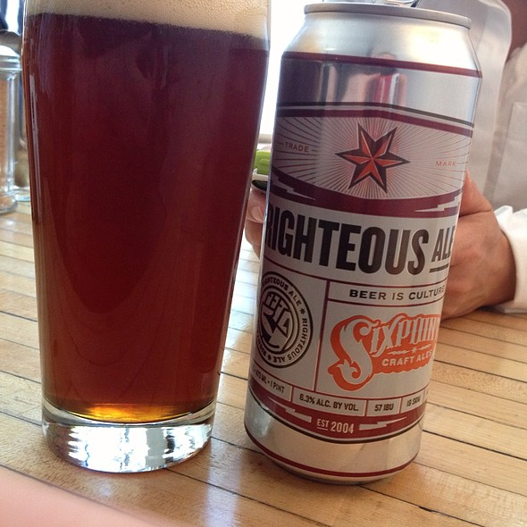 Six Point Righteous Ale