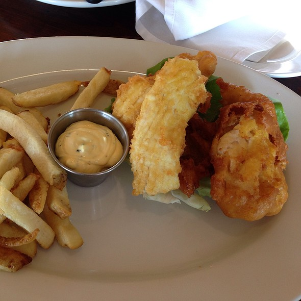 Fish and Chips @ Ocean Grill Avila Beach