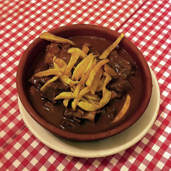 Ox Tail Stew @ Hermanos Ordas