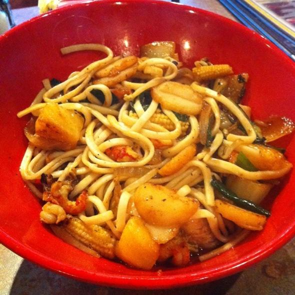 Custom Bowl @ Genghis Grill