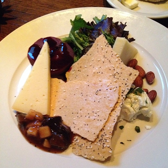 Cheese Plate - Tin Angel, Nashville, TN