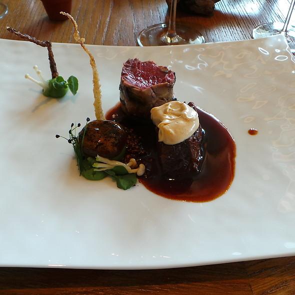 Beef: Fillet, Stewed Rib, Marrow @ Gourmetrestaurant Überfahrt