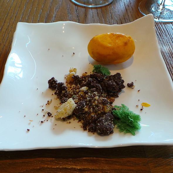 Cheesecake-Potato with Earth Crumble @ Gourmetrestaurant Überfahrt