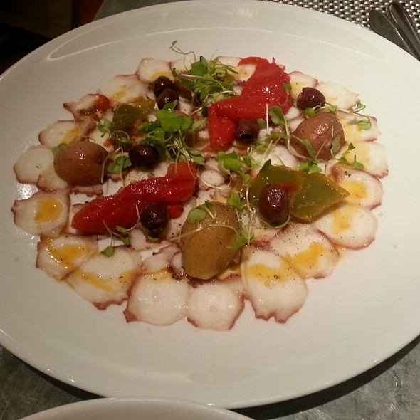 Octopus Carpaccio - FIG & OLIVE Fifth Avenue, New York, NY