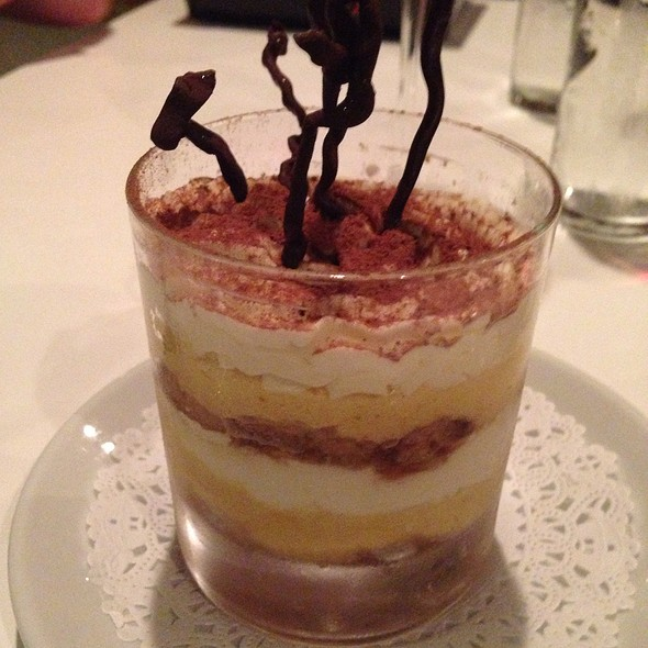 Pumpkin Tiramisu - Elements, Chapel Hill, NC