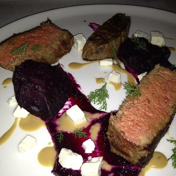 Beef Rib Loin - The Restaurant at Patowmack Farm, Lovettsville, VA