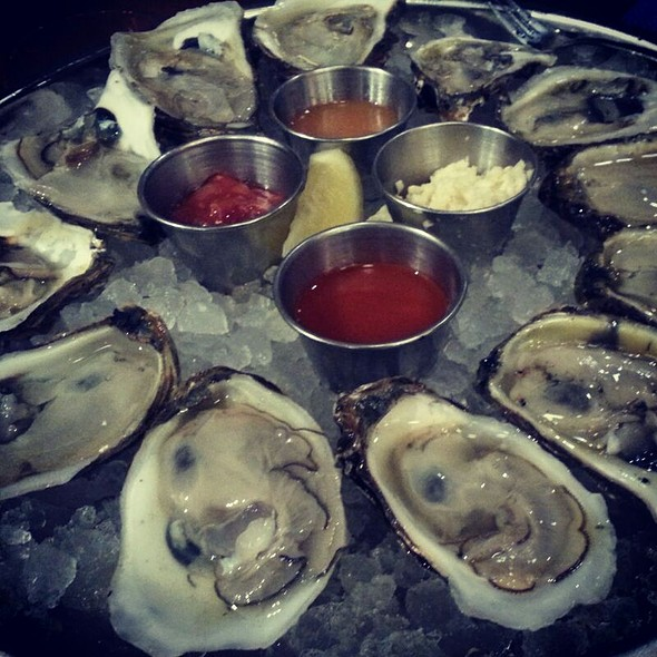 Blue Point Oysters - GrillMarX Steakhouse & Raw Bar, Olney, MD