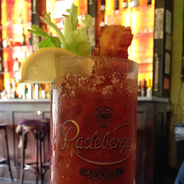 Bacon Bloody Mary @ Chez Lola