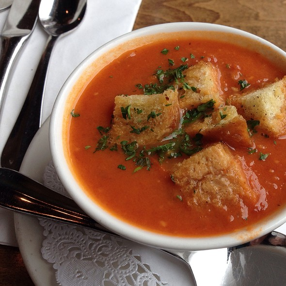 Rustic Tomato Soup - Cafe Provence - Brandon, Brandon, VT