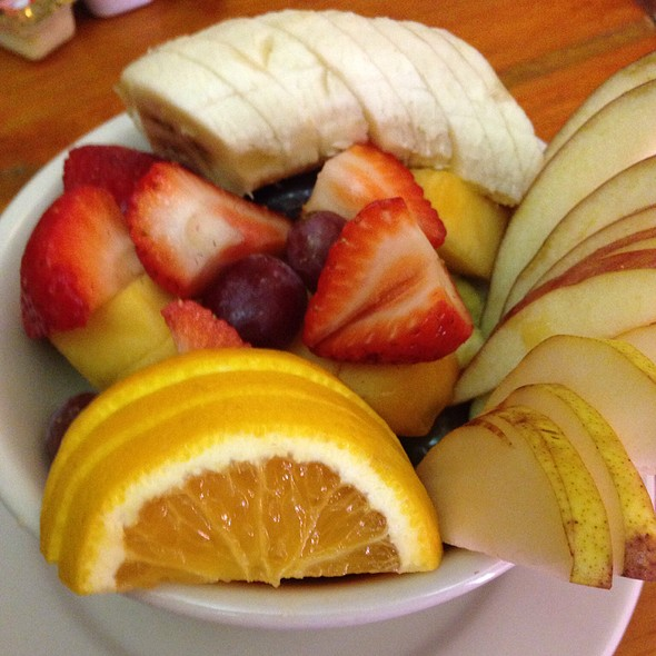 Fresh Fruit Bowl @ Runcible Spoon Cafe & Rstrnt