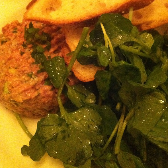 Steak Tatare @ Balthazar Restaurant