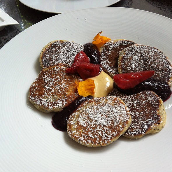Poppy Seed Pancakes @ Secret Location