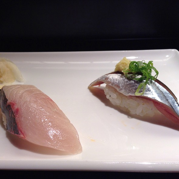 Shima Aji And Sanma Nigiri @ Sushi ii