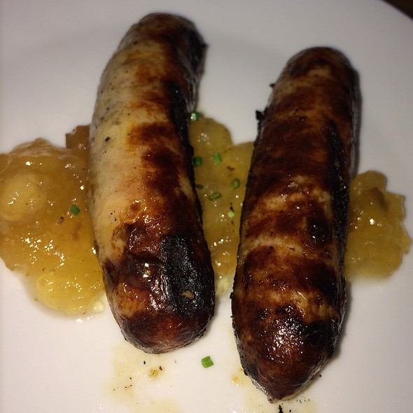 Chicken Sausage With Apple Chutney - Sarabeth's TriBeCa, New York, NY