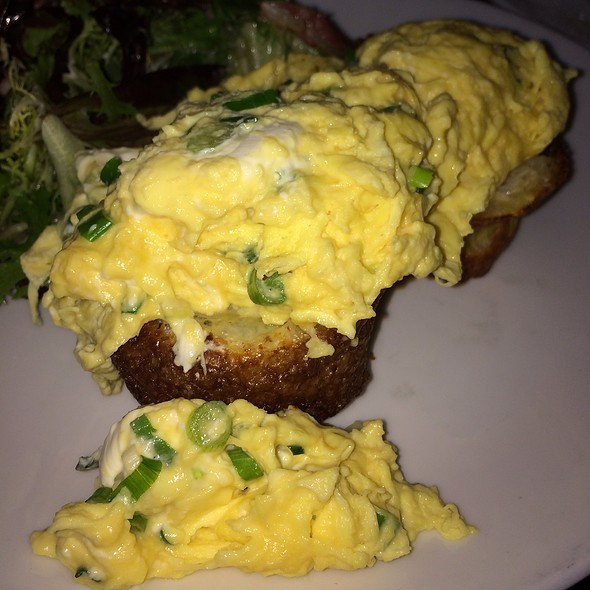 Scrambled Egg Stuffed Popover - Sarabeth's TriBeCa, New York, NY