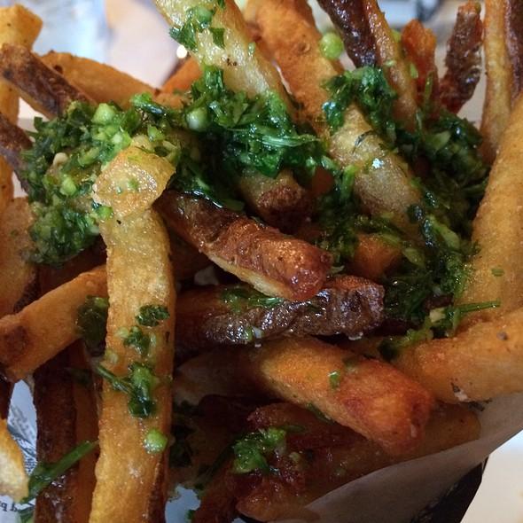 Garlic Fries - Jolie's Louisiana Bistro, Lafayette, LA