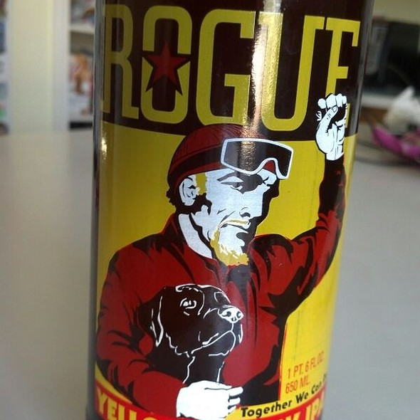 Rogue Yellow Snow IPA @ Home