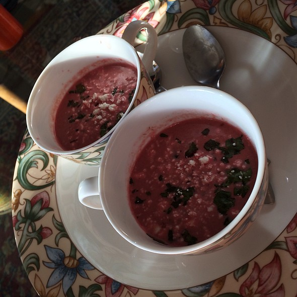 Cream of Beet Soup @ Home