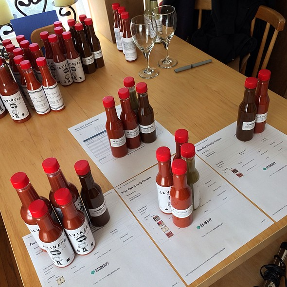 Homemade Hot Sauces @ Home
