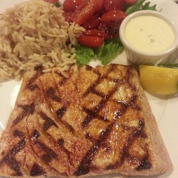 Grilled Yellow Fin Tuna @ Fish Market Restaurant
