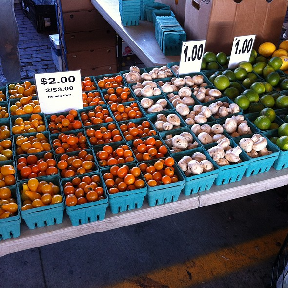 Tomatos, Mushrooms, Limes, and Lemons @ The Rochester Public Market