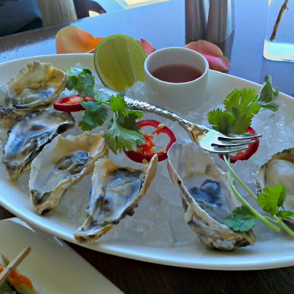 Oysters - RAYA at The Ritz-Carlton, Laguna Niguel, Dana Point, CA