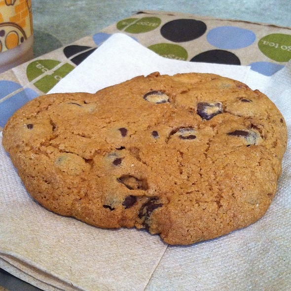 chocolate chip cookie @ Argo Tea Cafe