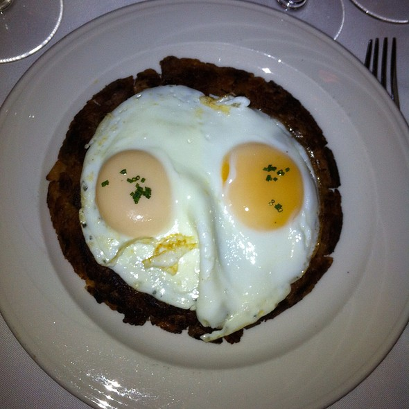 prime rib hash - Keens Steakhouse, New York, NY