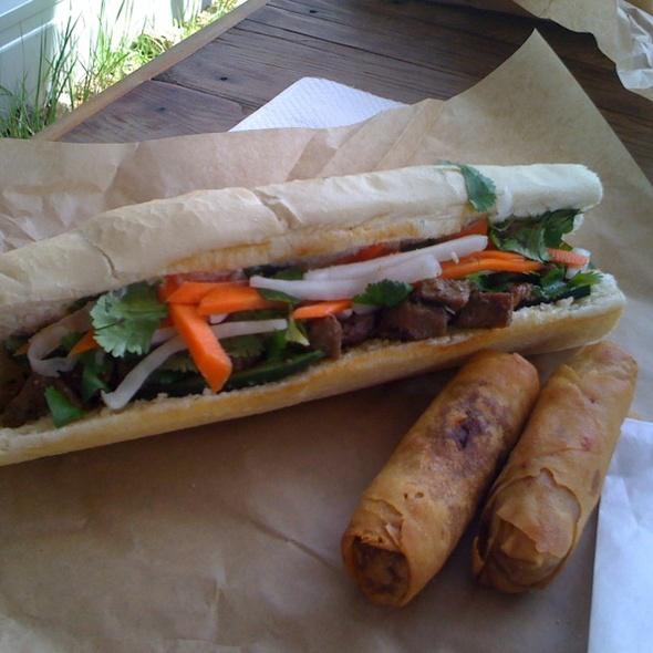 Grilled Pork Vietnamese Sandwich @ East Borough