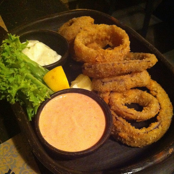 Onion Rings @ Uncle Fletch