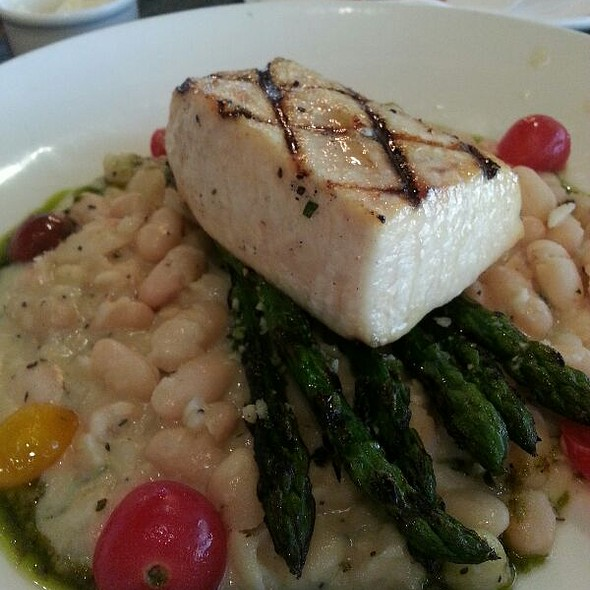 Swordfish Cassoulet @ Skates On the Bay