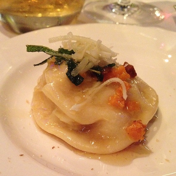 Pumkin Ravioli - Joe Muer Seafood - Detroit, Detroit, MI