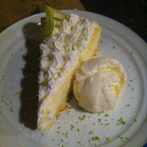 Key Lime Cheesecake @ Uncle Fletch